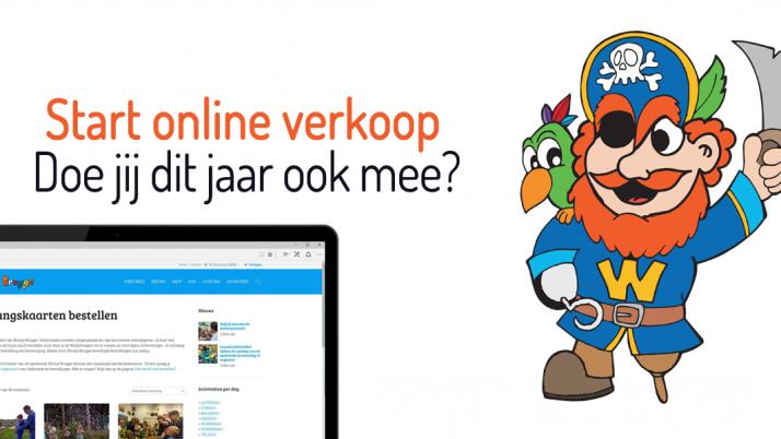 Online verkoop toegangskaarten is gestart