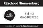 Rijschool Nieuwenburg