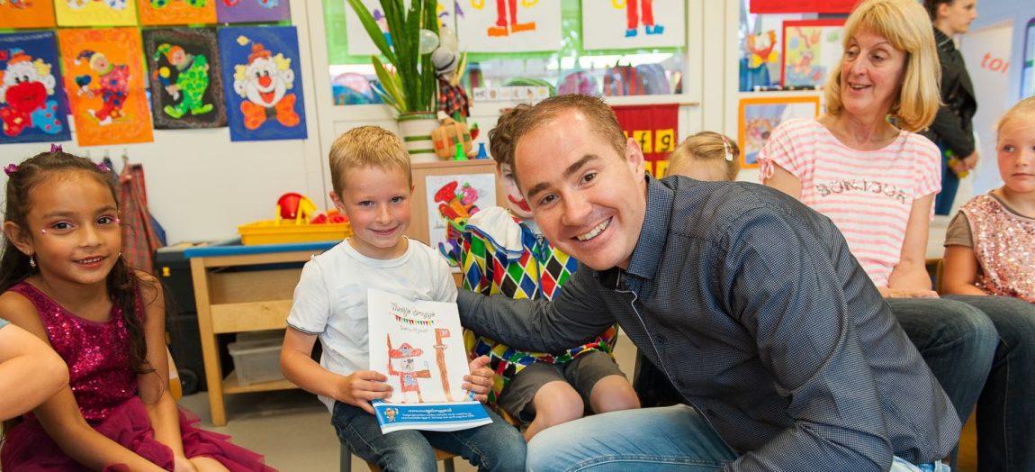 Jens Zwarst winnaar tekenwedstrijd van jarige Woutje!